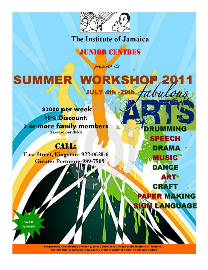 JUNIOR CENTRE'S SUMMER ART PROGRAMME_2011 (1)